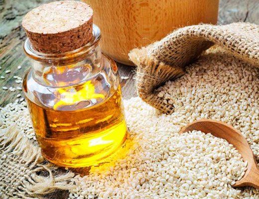 bienfaits de l'huile de sésame